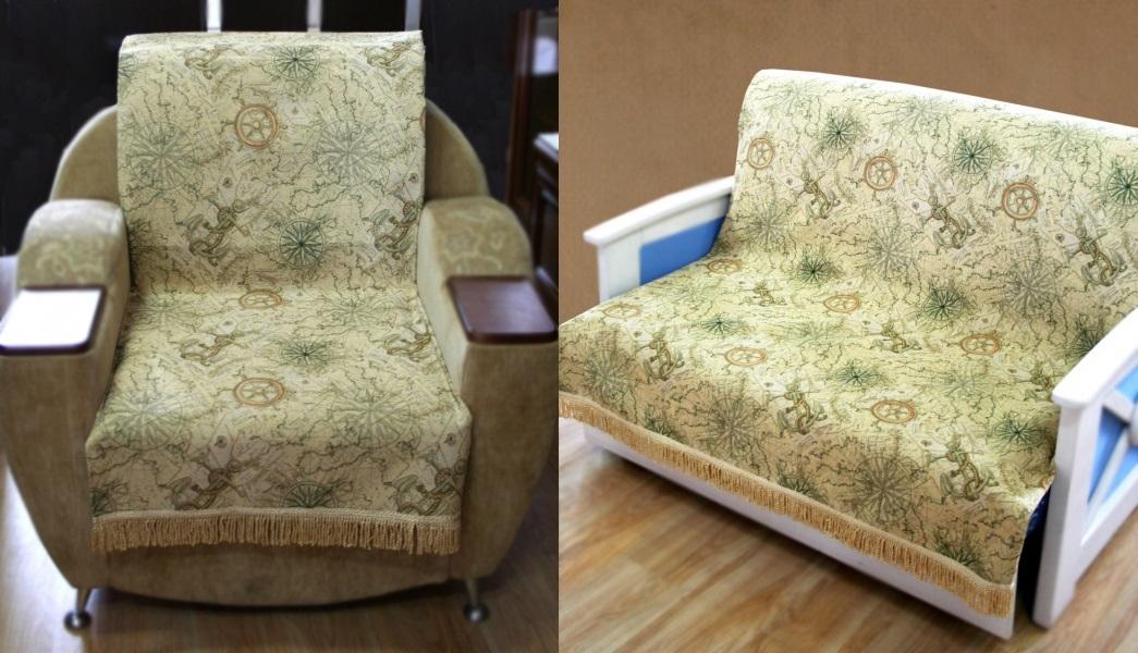 Накидка на диван и кресла