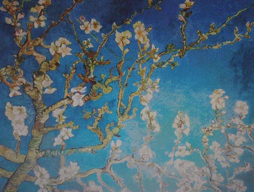 Ван Гог Цветущий миндаль